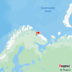 Weather station ua1zap in pri stantsii Taybola, Murmansk Region, Russia