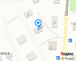 Схема местоположения почтового отделения 186134