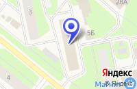 Схема проезда до компании СТРОИТЕЛЬНАЯ ФИРМА СЕРВИССТРОЙ в Апатитах
