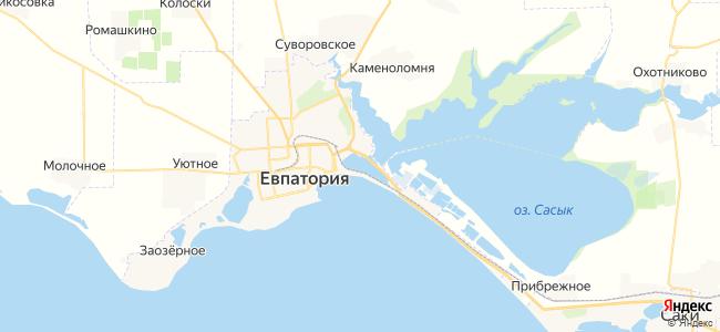 Эллинги Евпатории - объекты на карте