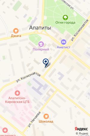 СТРОИТЕЛЬНАЯ КОМПАНИЯ ПРОЕКТСТАЛЬКОНСТРУКЦИЯ на карте Апатитов