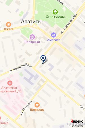 КОМПЬЮТЕРНЫЙ МАГАЗИН СЕЛИВЕРСТОВ П.А. на карте Апатитов