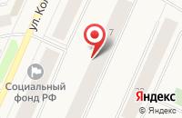 Схема проезда до компании Полар Скорпион в Североморске