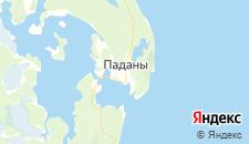 Отели города Паданы на карте