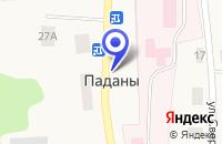 Схема проезда до компании ПЕКАРНЯ ПАНЧЕНКО А.Н. в Медвежьегорске