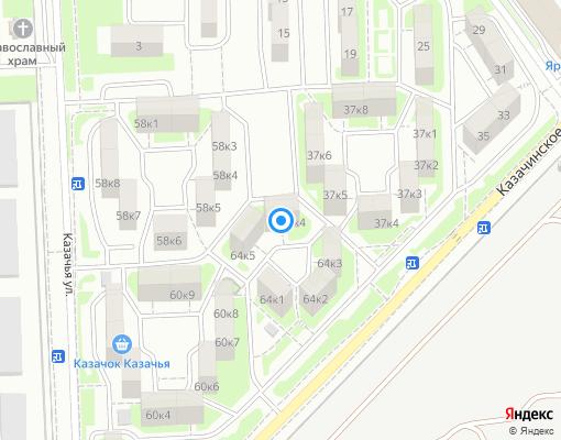 Управляющая компания «Керчьстрой Сервис» на карте Севастополя