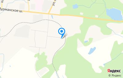 Местоположение на карте пункта техосмотра по адресу Мурманская обл, г Североморск, ул Гвардейская, д 11А