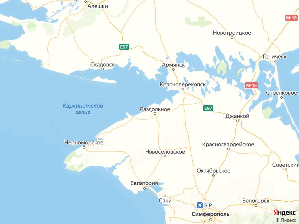 село Чернышево на карте