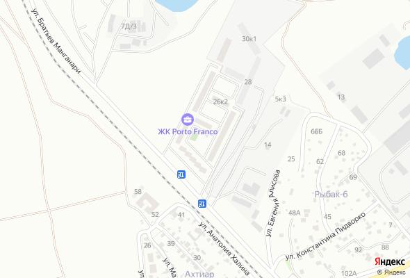 продажа квартир Porto Franco (Порто Франко)
