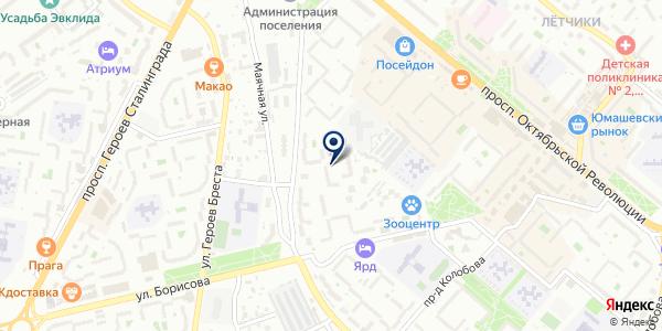 ОСТ-ФАРМ на карте Усть-Каменогорске