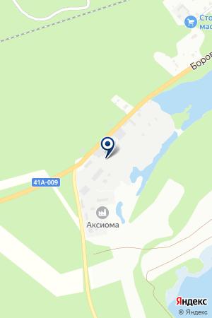 ПРОИЗВОДСТВЕННОЕ ПРЕДПРИЯТИЕ ГАЛАНТ на карте Тихвина