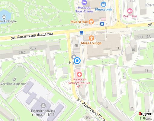 Управляющая компания «Югжилсервис-2» на карте Севастополя