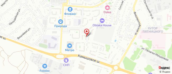 Карта расположения пункта доставки Севастополь Комбрига Потапова в городе Севастополь