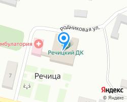 Схема местоположения почтового отделения 243410