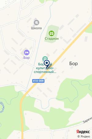 АЗС АВРО-ТИХВИН на карте Тихвина