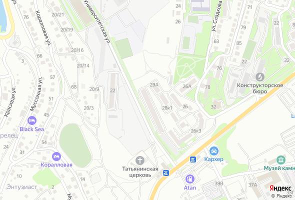 жилой комплекс Университетский 2