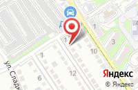 Схема проезда до компании Автомастер в Череповце