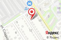 Схема проезда до компании Кристалл-РТ в Череповце