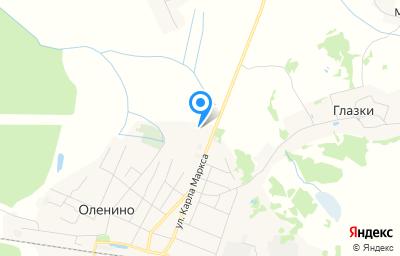 Местоположение на карте пункта техосмотра по адресу Тверская обл, пгт Оленино, ул Гагарина, д 65