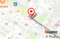 Схема проезда до компании Житное в Астрахани