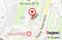 Схема проезда до компании Стильный подвальчик в Первомайском