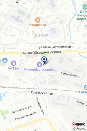 ПТФ СТРОЙМЕТАЛЛСЕРВИС на карте Тихвина