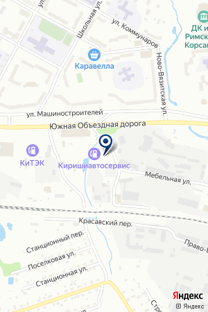АВТОТРАНСПОРТНАЯ КОМПАНИЯ КОМБИ на карте Тихвина