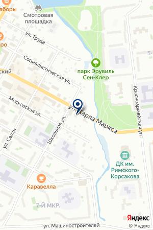 ДЕТСКИЙ ОЗДОРОВИТЕЛЬНО-ОБРАЗОВАТЕЛЬНЫЙ ЦЕНТР на карте Тихвина