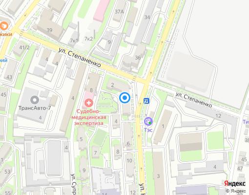 Управляющая компания «Югстройсервис» на карте Севастополя