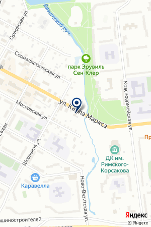 МАГАЗИН АВТОЗАПЧАСТЕЙ ВАН на карте Тихвина