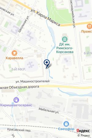 СТРОИТЕЛЬНЫЙ СУПЕРМАРКЕТ ОЧАГ на карте Тихвина