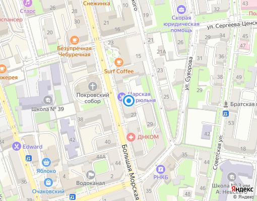 Управляющая компания «Управдом» на карте Севастополя