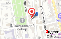 Схема проезда до компании Автомастерская в Старокучергановке