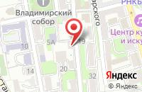 Схема проезда до компании А-студия Алены Куфтиной в Иваново