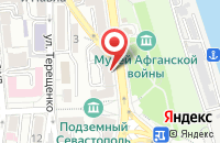 Схема проезда до компании ДОСААФ РОССИИ в Колывани