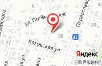 Схема проезда до компании Средняя общеобразовательная школа №16 в Молдаванском