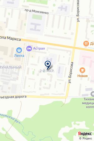 КОЖНО-ВЕНЕРОЛОГИЧЕСКИЙ КАБИНЕТ на карте Тихвина