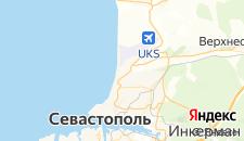 Отели города Любимовка на карте