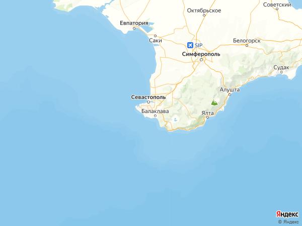 посёлок 3-е отделение Золотой Балки на карте