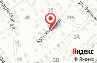 Схема проезда до компании ОСКОЛСЕРВИССТРОЙ в Старом Осколе