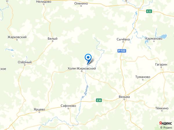 деревня Болышево на карте