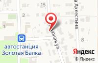 Схема проезда до компании СМУ 4 в Мариинском