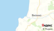 Гостиницы города Песчаное на карте