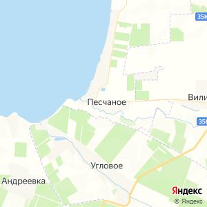Карта города Песчаного
