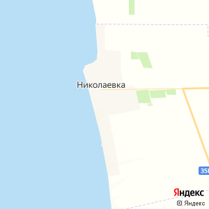 Карта города Николаевки