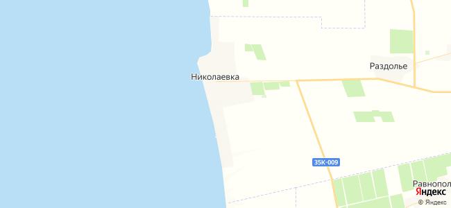 Дома Николаевки под-ключ - объекты на карте