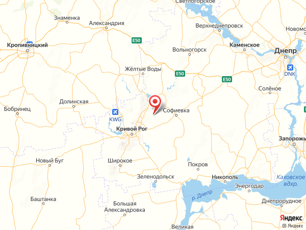 село Лесное на карте