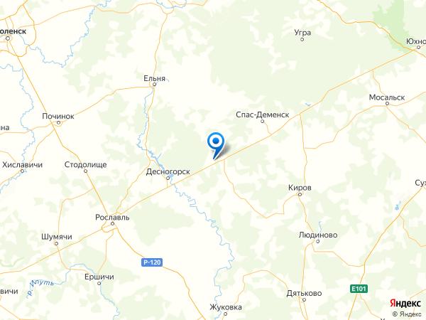 деревня Варнаки на карте