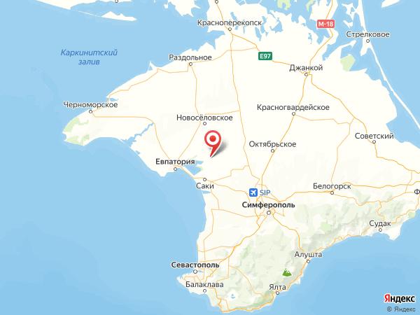 село Журавли на карте