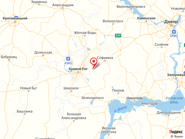 поселок Новые Садки на карте